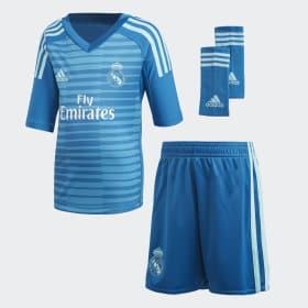 Real Madrid Away Goalkeeper Mini Kit