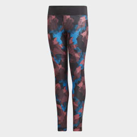 Allover Print Tights