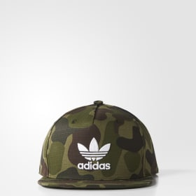 Camouflage Snap-Back Cap