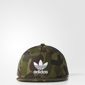 Camouflage Snap-Back Kappe
