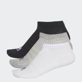 3-Stripes No-Show sokker, 3 par