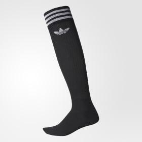 Solid Knee Socks 2 Pairs