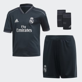 Mini Kit Away Real Madrid