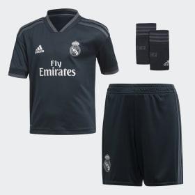 Mini kit Real Madrid Extérieur