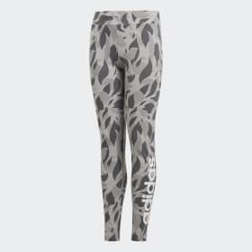 Linear Printed Legging