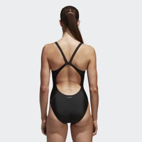 adidas essence core solid swim suit