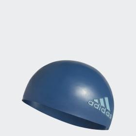Cuffia da nuoto silicone logo