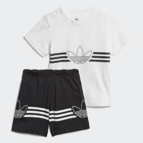 de504bdca90bf Ensemble Outline Tee and Shorts. Nouveau. Enfants Originals