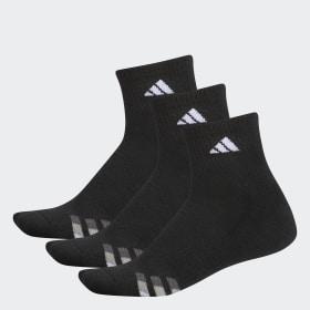 Cushioned Quarter Socks 3 Pairs L