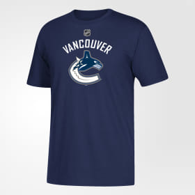 Canucks Silver Home Jersey Tee