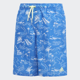 Graphic Swim Shorts