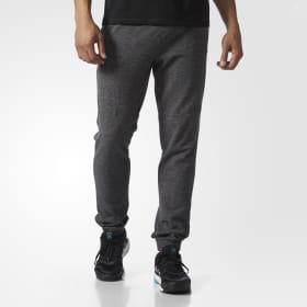 Essentials Heathered Piqué Pants