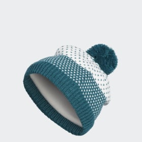 Fashion Lined Pompom Beanie