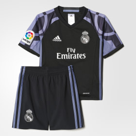 Mini ensemble Real Madrid Troisième tenue