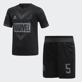 Conjunto para Fútbol Marvel Pantera Negra