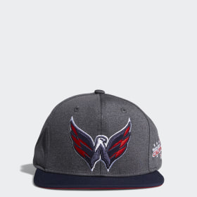 Capitals Snapback Heathered Grey Hat