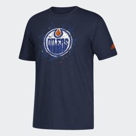 Oilers Sketchpad Logo Tee