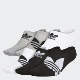 Trefoil Super-No-Show Socks 6 Pairs