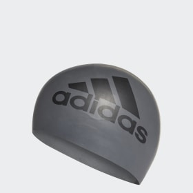 adidas silicone graphic swim cap