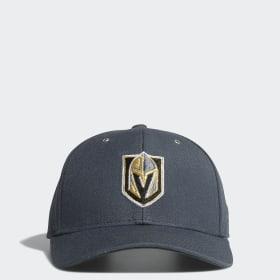 90474edd9c43a Golden Knights Adjustable Leather Strap Hat