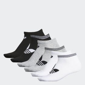 Trefoil No-Show Socks 6 Pairs
