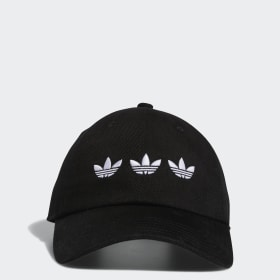 Triple Trefoil Strap-Back Relaxed Hat
