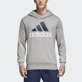 Essentials Linear Pullover Huvtröja
