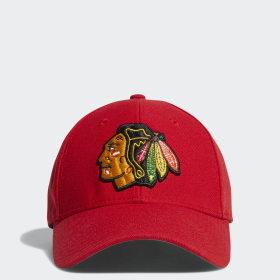 Blackhawks Structured Flex Cap