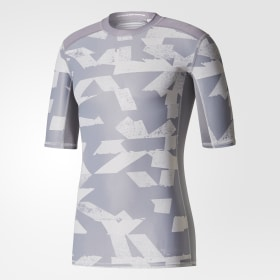 T-shirt Techfit Chill Print