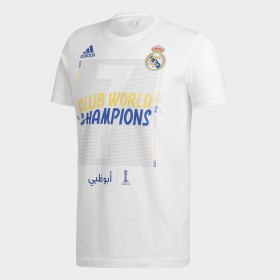 T-shirt Real Madrid World Champions
