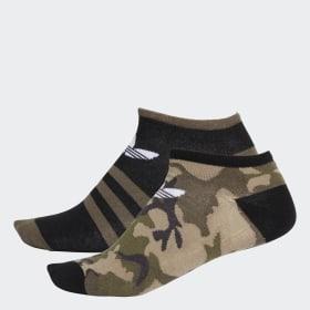 Skarpety-stopki Camouflage ― 2 pary