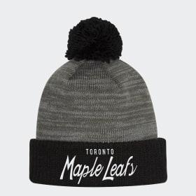 Bonnet Maple Leafs Cuffed Pom