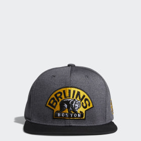 Bruins Snapback Heathered Grey Hat