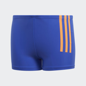 Back-To-School 3-Stripes Swim Boxers