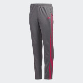 HEATHERED WARM UP TRICOT PANT