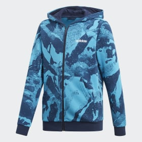 Chaqueta con capucha Essentials Allover Print