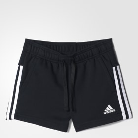 Essentials 3-Streifen Mid Shorts