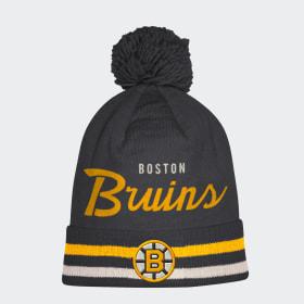 Bruins Cuffed Pom Beanie