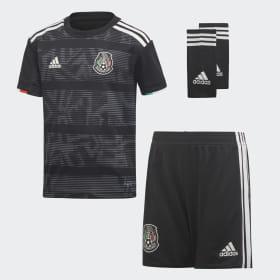 Conjunto Mini Uniforme Titular Selección de México 2019 Niño