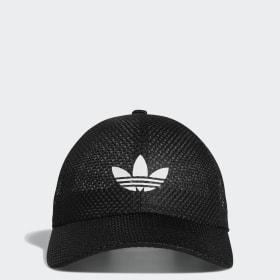 Mesh Strap-Back Hat