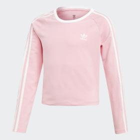 3-Stripes Cropped T-skjorte