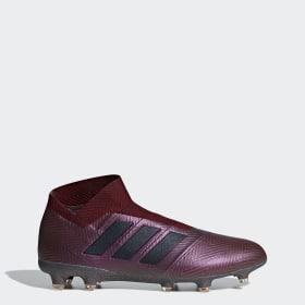 Bota de fútbol Nemeziz 18+ césped natural seco