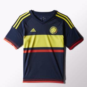 Camiseta de visitante de Colombia