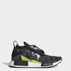 online store 2be02 8f19a NEIGHBORHOOD BAPE NMD Stealth Shoes