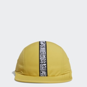 3-Stripes Four-Panel Caps