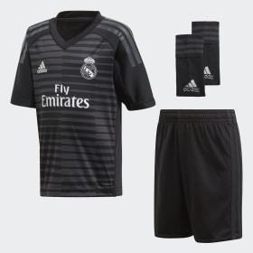 Real Madrid Home Goalkeeper Mini Kit