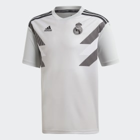 Jersey Prepartido Real Madrid Local Niño 2018