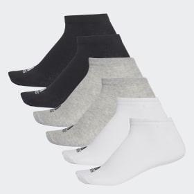 No-Show Socks 6 Pairs