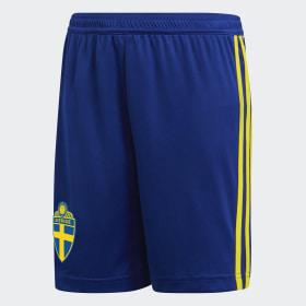 Szorty podstawowe reprezentacji Szwecji