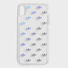 Clear Allover Print Case iPhone X